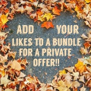 Add items you like to a bundle for a private offer